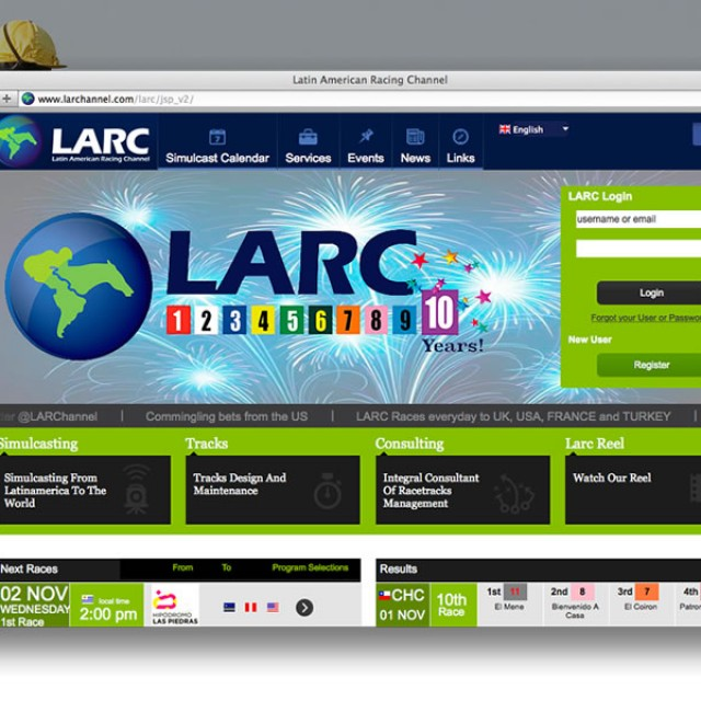 LARC's (Latin American Racing Channel)