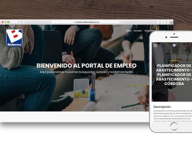 Biofarma – Recruiting Web APP